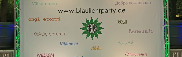 Happy birthday blaulichtparty.de!